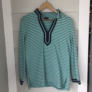 Striped pullover / sweatshirt tunic